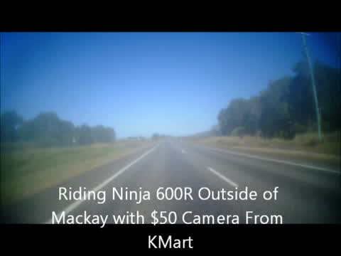 Riding 1996 Ninja 600R Northern QLD