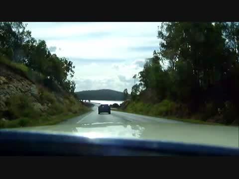Following Mum to Wivenhoe Dam in QLD