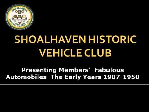SHVC Automobiles 1907-1950