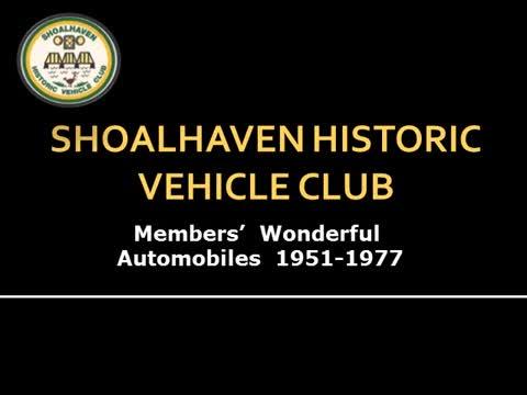 SHVC Automobiles 1951-1977