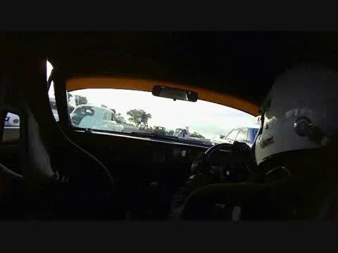 Triumph 2.5 PI race car Winton Historics
