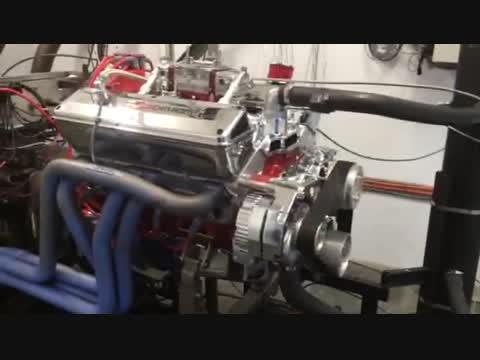 COMARO ENGINE FIRST START