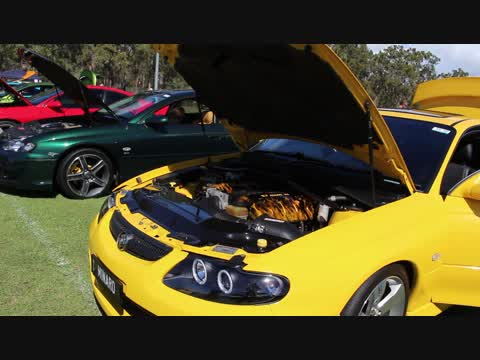 Bundy All Holden Day Car Show