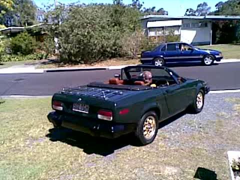 Bro's 3.5 Litre Rover V8 engined Triumph TR-8 Sports Car