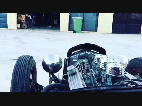 """""""Rattatwoee"""" 1930 Ford Model A 5 window"""