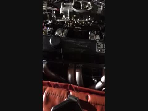 Motor running
