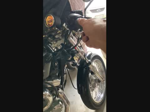 Harley Davidson 1977 Ironhead Evolution